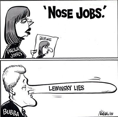 "Steve Nease - Editorial Cartoons: ""Nose Jobs"""