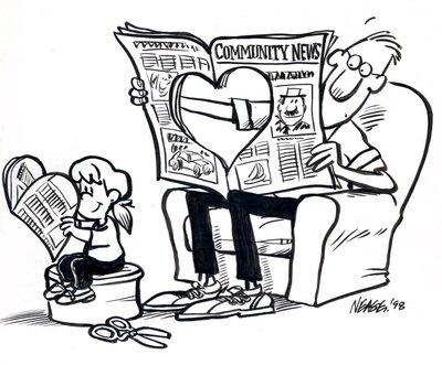 Steve Nease Editorial Cartoons: Community News