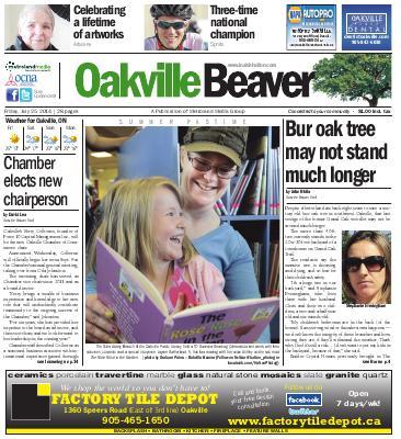 Oakville Beaver, 25 Jul 2014