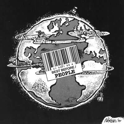 Steve Nease Editorial Cartoons: Earth's Best Before Date