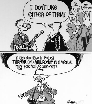 Steve Nease Editorial Cartoons: Voter Support
