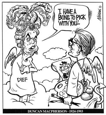Steve Nease Editorial Cartoons: Duncan Macpherson