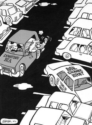 Steve Nease Editorial Cartoons: Downtown Oakville BIA