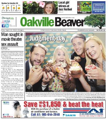 Oakville Beaver, 15 Aug 2014