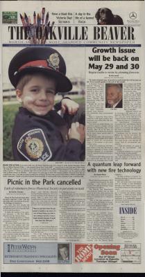 Oakville Beaver, 15 May 2002