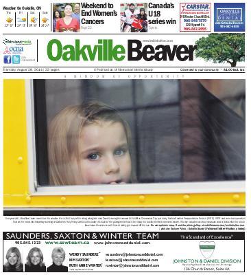 Oakville Beaver, 28 Aug 2014