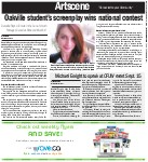 Oakville student's screenplay wins national contest: Danielle Roy's A Tomato in the Sun a hit with Passages Canada's Write and Mark Art!