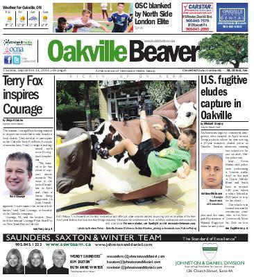 Oakville Beaver, 11 Sep 2014