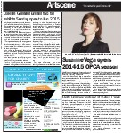 Suzanne Vega opens 2014-15 OPCA season