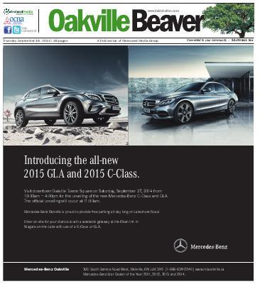 Oakville Beaver, 18 Sep 2014