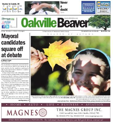 Oakville Beaver, 3 Oct 2014