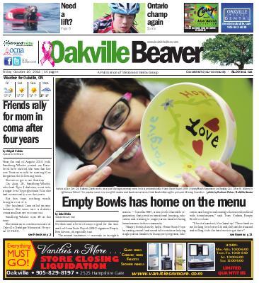 Oakville Beaver, 10 Oct 2014