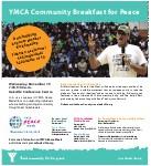 YMCA Community Breakfast for Peace