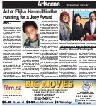 Actor Elijha Hammill in the running for a Joey award