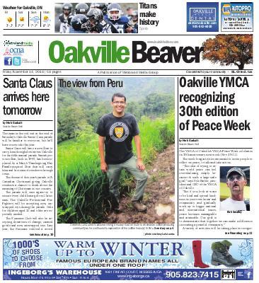 Oakville Beaver, 14 Nov 2014