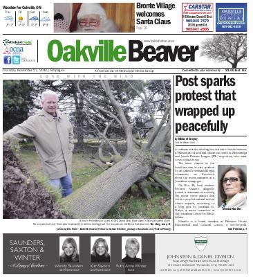 Oakville Beaver, 27 Nov 2014