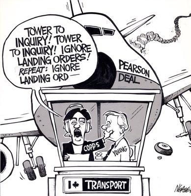 Steve Nease Editorial Cartoons: Pearson Deal