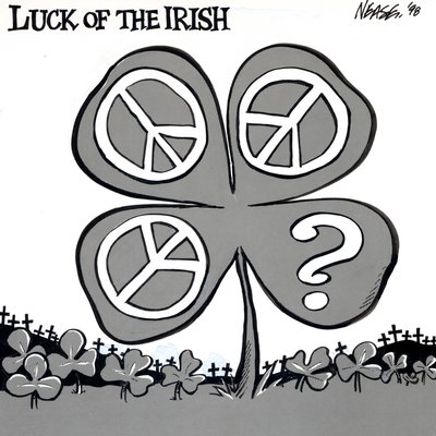 Steve Nease Editorial Cartoons: Luck of the Irish