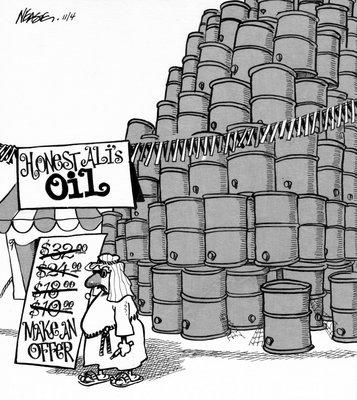 Steve Nease Editorial Cartoons: Honest Ali's Oil