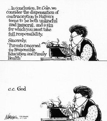 Steve Nease Editorial Cartoons: Contraception