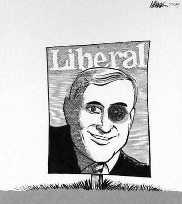 Steve Nease Editorial Cartoons: John Turner's Black Eye