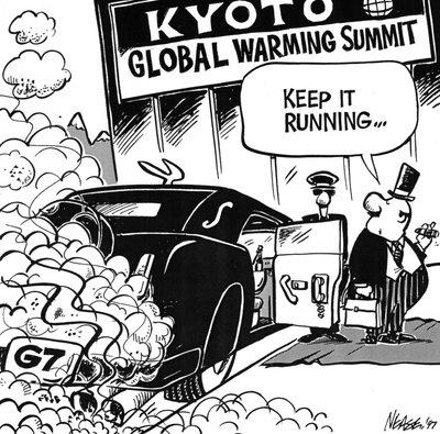 Steve Nease Editorial Cartoons: Global Warming Summit