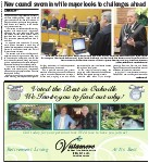 New council sworn in while mayor looks to challenges ahead