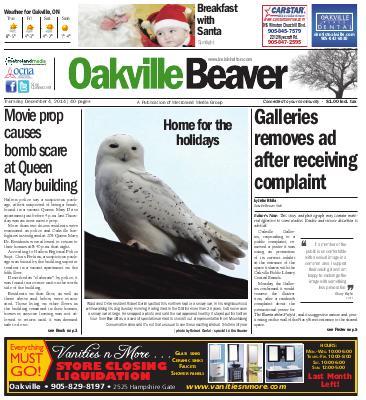 Oakville Beaver, 4 Dec 2014