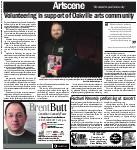 Volunteering in support of Oakville arts community
