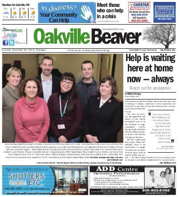 Oakville Beaver, 18 Dec 2014