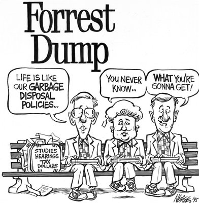Steve Nease Editorial Cartoons: Forest Dump