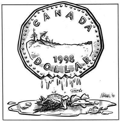 Steve Nease Editorial Cartoons: Fallen Loon