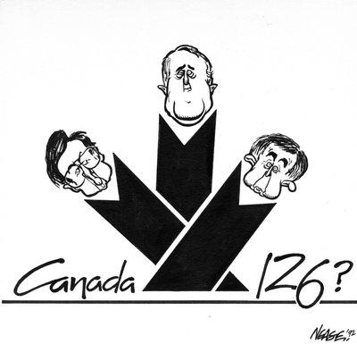 Steve Nease Editorial Cartoons: Canada 126?