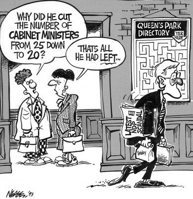 Steve Nease Editorial Cartoons: Last NDP Scandal