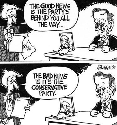 Steve Nease Editorial Cartoons: Good News & Bad News