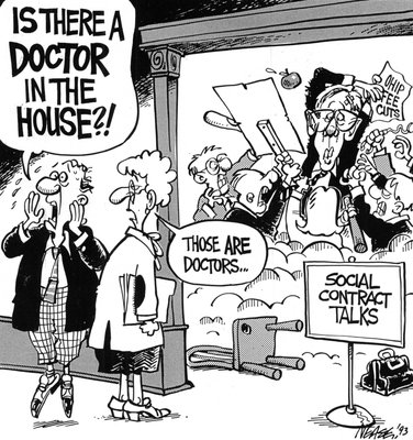 Steve Nease Editorial Cartoons: Is there a doctor in the house?