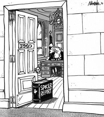 Steve Nease Editorial Cartoons: Spicer Report