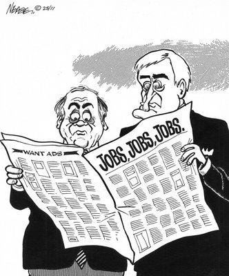 Steve Nease Editorial Cartoons: Jobs Jobs Jobs!