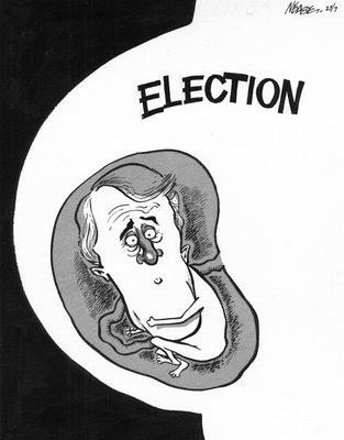 Steve Nease Editorial Cartoons: Mulroney's Abortion Dilemma