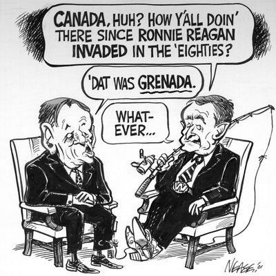"Steve Nease Editorial Cartoons: ""'Dat was Grenada"""