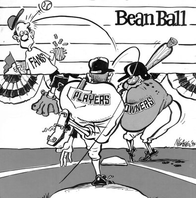 Steve Nease Editorial Cartoons: Bean Ball