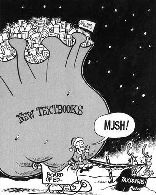 Steve Nease Editorial Cartoons: New Textbooks!
