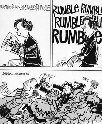 Steve Nease Editorial Cartoons: No Sunday Shopping?