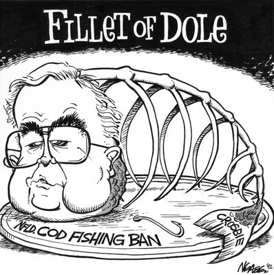 Steve Nease Editorial Cartoons: Fillet of Dole