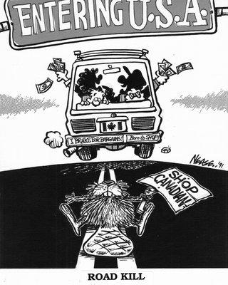 Steve Nease Editorial Cartoons: Road Kill