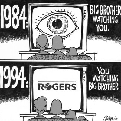Steve Nease Editorial Cartoons: Big Brother Watching You?