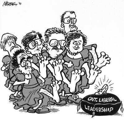 Steve Nease Editorial Cartoons: Ontario Liberal Glass Slipper