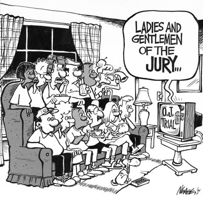 Steve Nease Editorial Cartoons: Ladies & Gentleman of the Jury . . .
