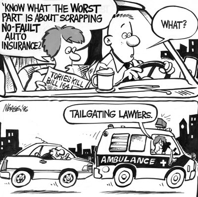 Steve Nease Editorial Cartoons:Tailgating Lawyers