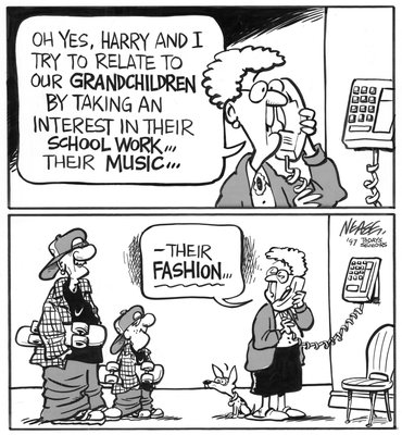 Steve Nease Editorial Cartoons: Grandpa's Fashion